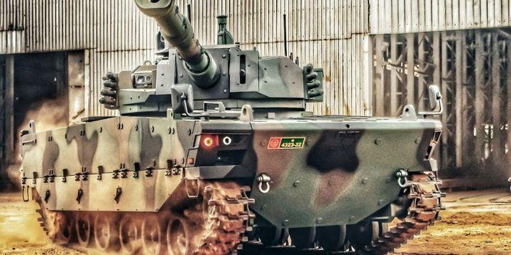 Kaplan tankı zorlu sınava hazır
