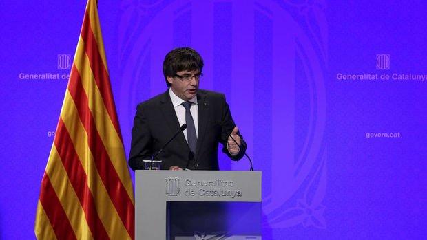Katalonya lideri: Birkaç gün içinde bağımsızlık ilan edeceğiz