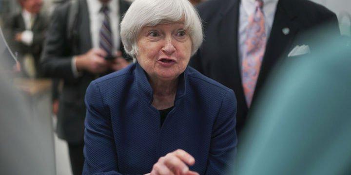 Yellen ekonomik görünüme ve para politikasına değinmedi
