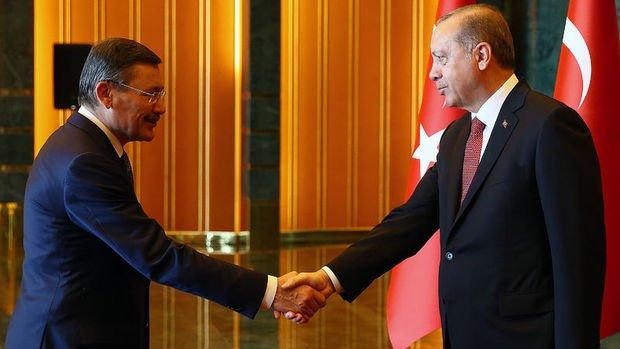 Erdoğan Melih Gökçek ile görüştü