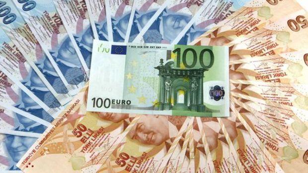 """Euro/TL """"vize krizi"""" ardından rekor kırdı"""