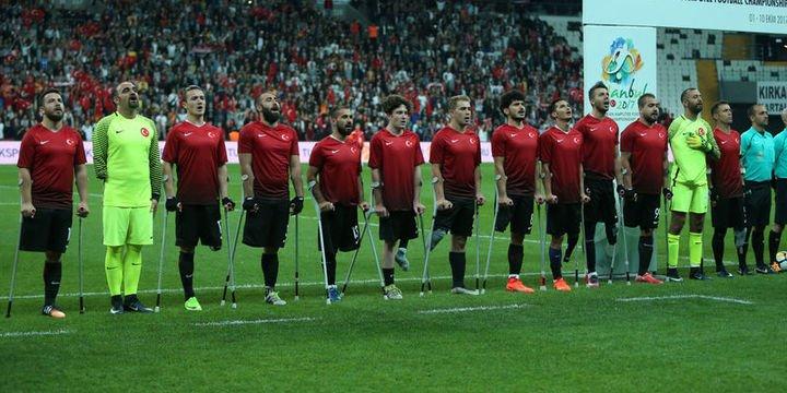 Türkiye Milli Ampute Futbol Takımı Avrupa şampiyonu oldu