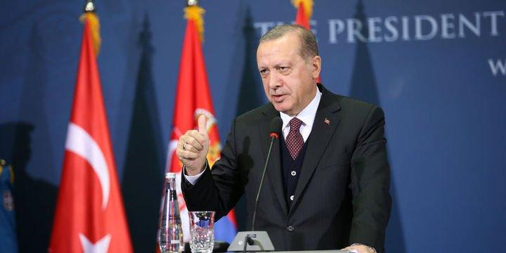 Erdoğan: (Vize krizi) Sorunun faili ABD