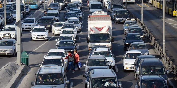 Trafiğe kayıtlı araç sayısı 21 milyon 863 bin oldu