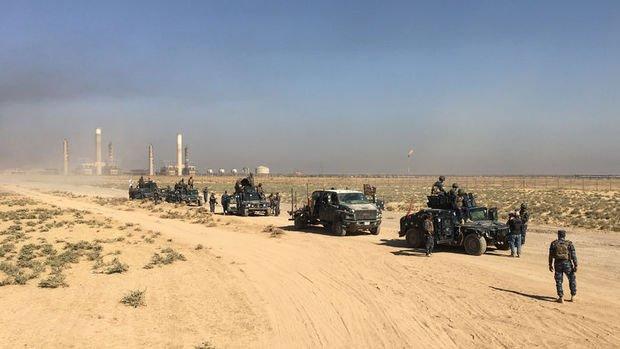 Irak güçleri Kerkük Havalimanında kontrolü sağladı