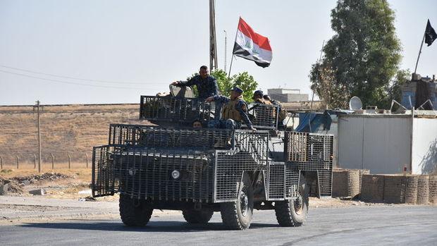 Irak Kerkük'te Keyvan Askeri Üssü'nde kontrolü sağladı