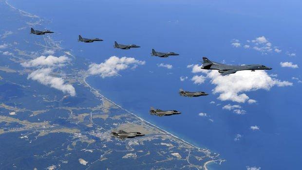 ABD ve Güney Kore ortak tatbikat başlattı