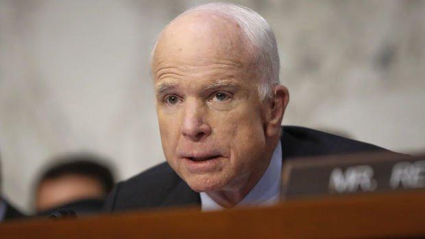 McCain: ABD Irak'a ekipmanları bölgesel hükümetine karşı kullansın diye vermedi