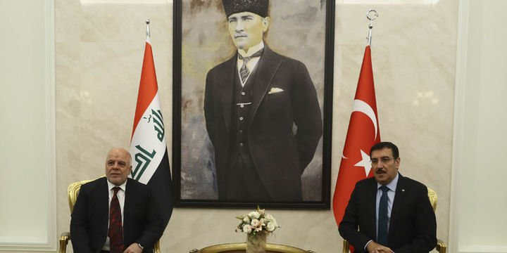 Irak Başbakanı İbadi Ankara