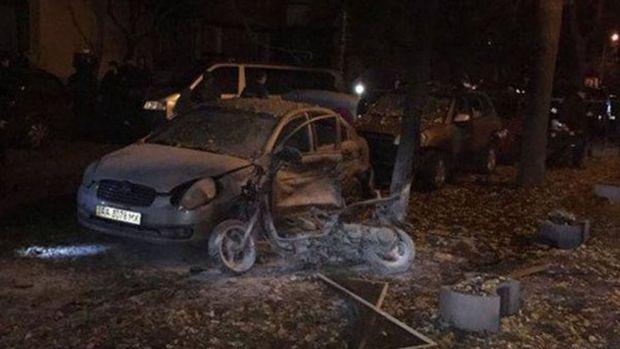 Kiev'de patlama: 1 ölü, 3 yaralı