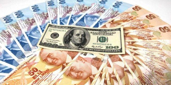 """Dolar/TL """"TCMB"""" sonrası 3.82"""