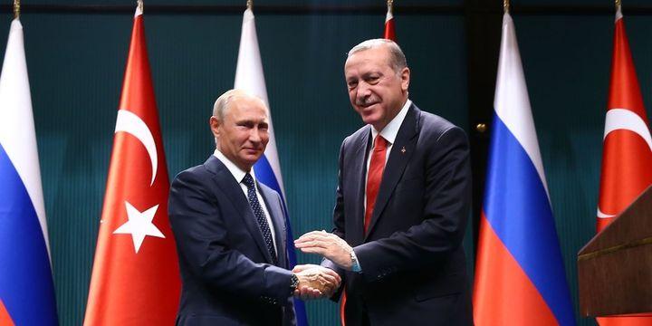 Cumhurbaşkanı Erdoğan, Rusya lideri Putin ile görüştü