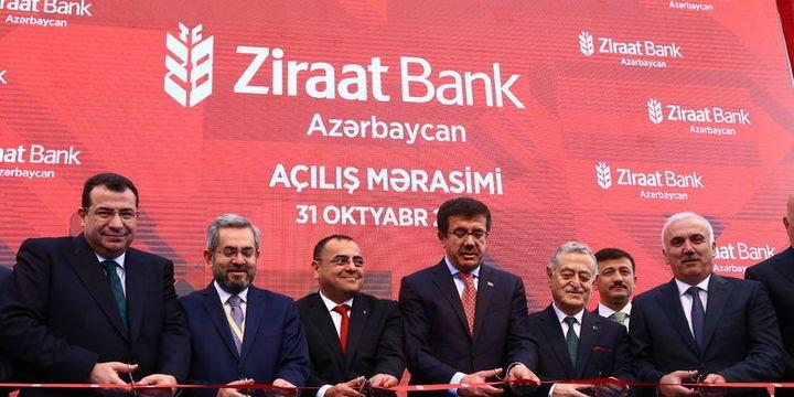 Ziraat Bank Azerbaycan açıldı