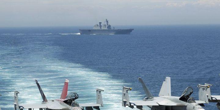 ABD savaş uçakları Kore Yarımadası