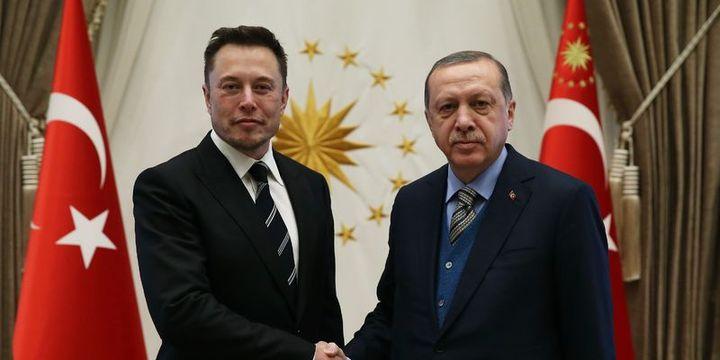 Cumhurbaşkanı Erdoğan Elon Musk