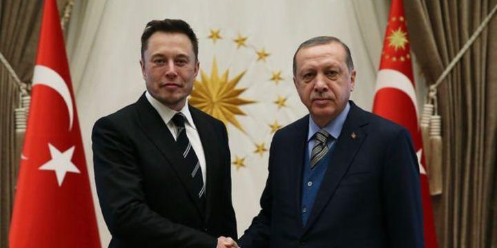 Erdoğan Musk ile teknolojide ortak çalışmaları görüştü