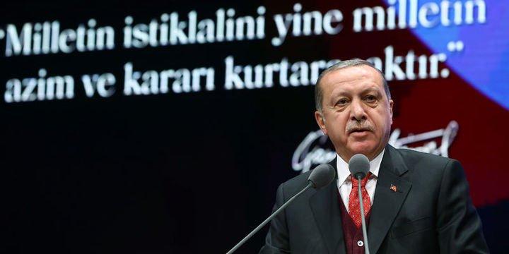 Erdoğan: Misak-ı Milli