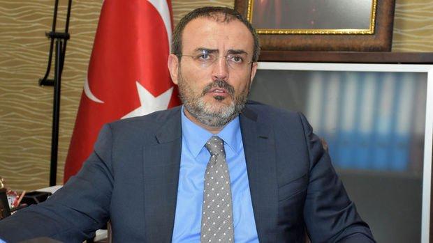AK Parti/Ünal: (Seçim barajı) Çalışmalarımızı 2017 sonuna kadar tamamlamayı planlıyoruz