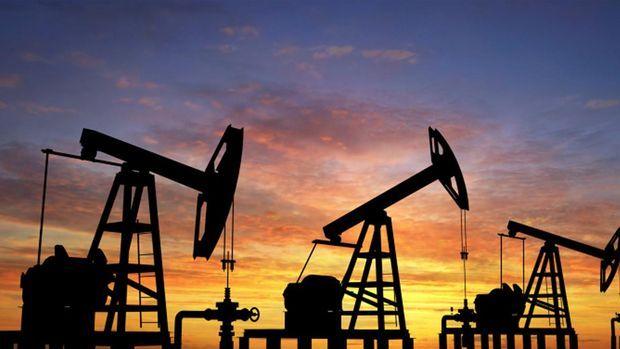 Petrol ABD'de üretimin daha da artmasıyla 55 dolara yakın seyretti