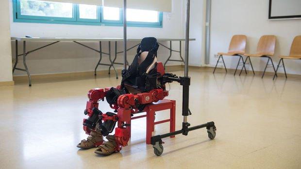 İşte giyilebilir ilk 'eksoskeleton'