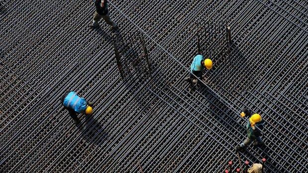 Avrupa'da inşaat üretimi ekimde azaldı