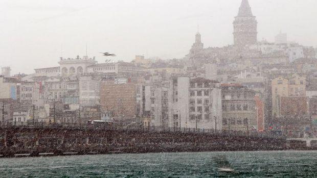 İstanbul'a Pazar günü kar yağabilir