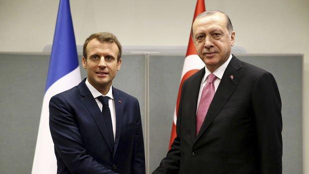 Erdoğan Macron ile EUROSAM ile işbirliğini görüşecek
