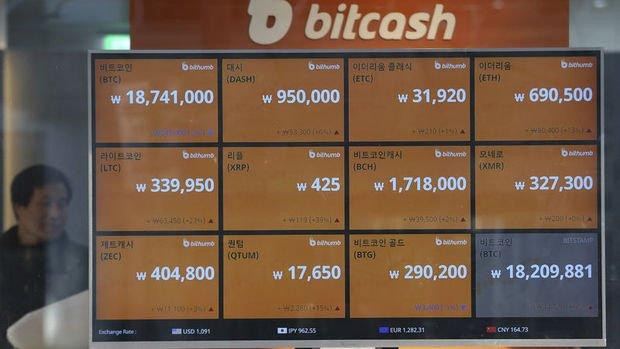 Sanal paralar: Bitcoin yüzde 2.9 yükselerek 15,369 dolara tırmandı