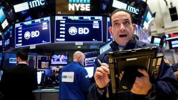 ABD borsaları rekor seviyelerden geriliyor