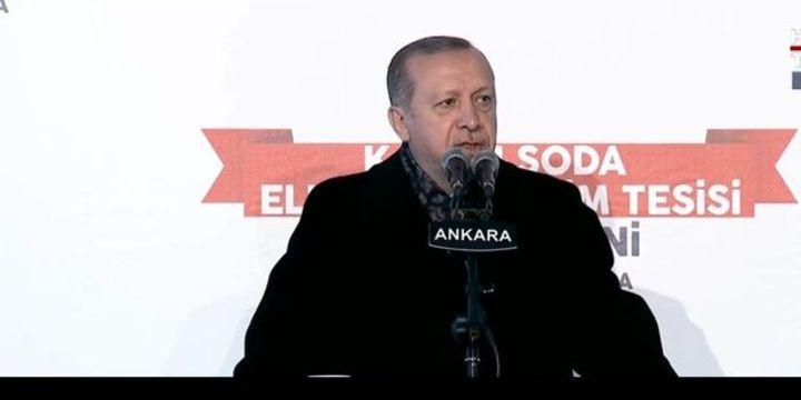 Erdoğan: Kazan Soda ihracata farklı dinamizm katacak