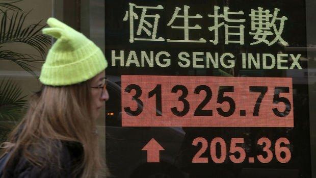 Hang Seng Endeksi tüm zamanların rekorundan kapandı