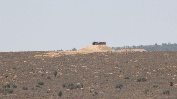 TSK'nın 10 tankı sınıra konuşlandırıldı