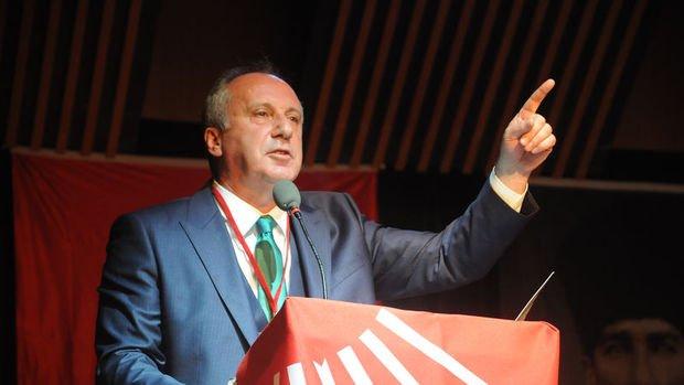 Muharrem İnce de CHP Genel Başkanlığı'na aday