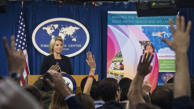 ABD Dışişleri: Türkiye'yi Afrin'e yönelik bir adım atmamaya çağırıyoruz