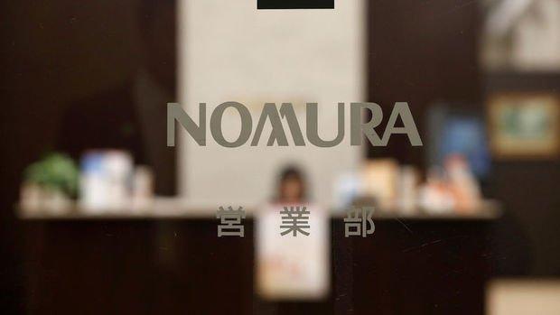 Nomura'nın 3. çeyrekte net karı % 25 arttı