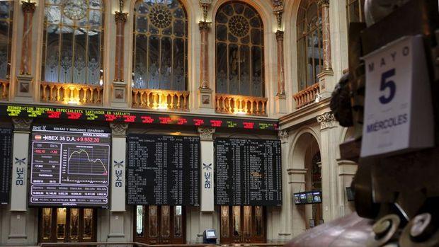 Avrupa borsaları haftanın son gününde düştü
