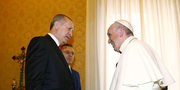 Cumhurbaşkanı Erdoğan Vatikan