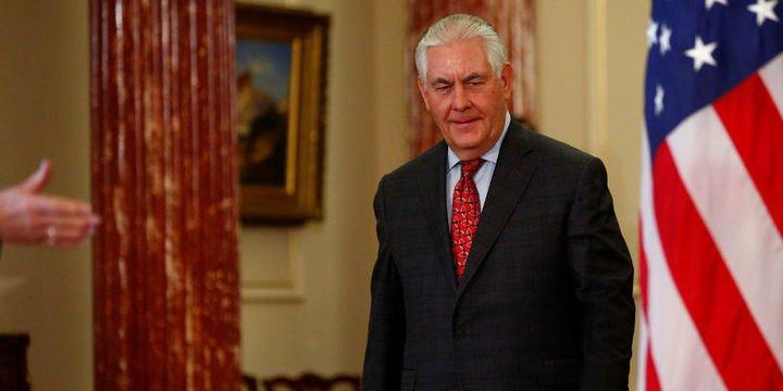 ABD Dışişleri Bakanı Tillerson Türkiye