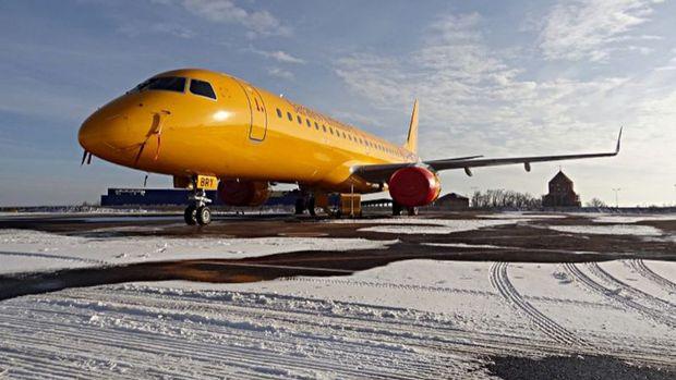 Rusyada 71 kişiyi taşıyan yolcu uçağı düştü