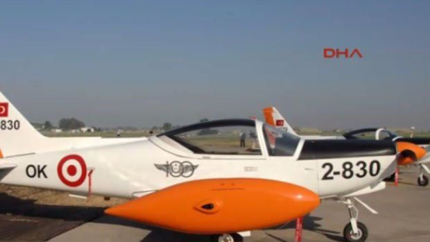 İzmir'de askeri uçak düştü, 2 şehit