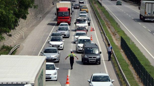 İstanbul'daki sürücüler geçen sene 60 saati trafikte geçirdi