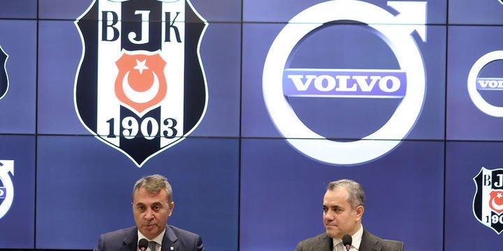 Beşiktaş, Volvo ile sponsorluk anlaşması yaptı