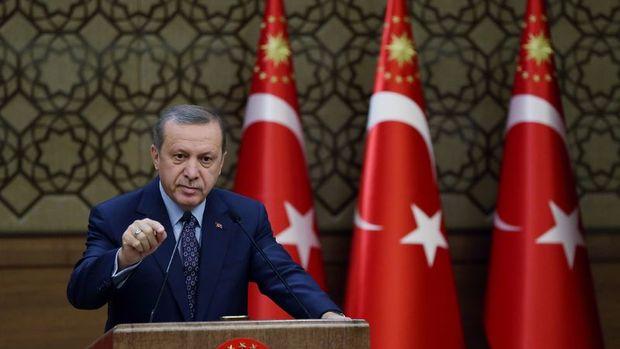 Erdoğan'dan Afrin mesajı: İşimiz bitmedikçe oradan çıkmayacağız