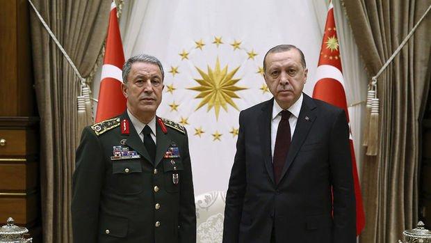 Erdoğan Genelkurmay Başkanı Org. Akar'ı kabul edecek