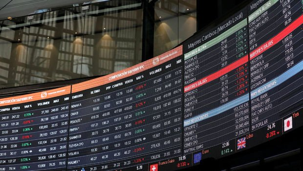 Küresel piyasalar: Hisse senetleri sert yükseldi, dolar düştü