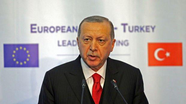 Erdoğan: Türkiye-AB ilişkilerinde zorlu dönemi geride bırakmayı umuyoruz