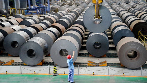 """Çin çelik ithalatı """"Trump vergisi""""ne karşın daha ucuz"""