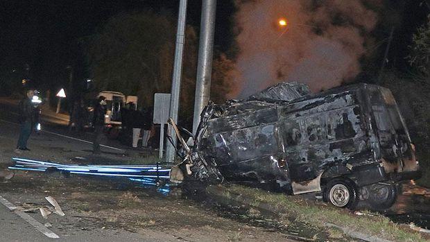 Iğdır'da minibüs kazası: 15 ölü, 30 yaralı