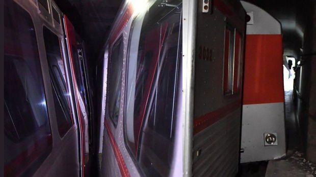 Ankara'da metro kazası