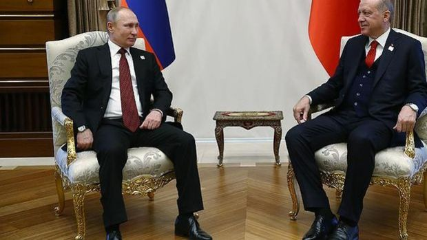 Cumhurbaşkanı Erdoğan ile Putin'in görüşmesi sona erdi